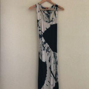 Anama Tie-Dye Racerback Maxi Dress